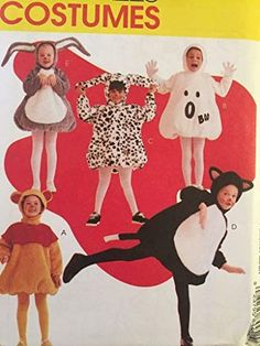Toddler Sewing Patterns, Mccalls Sewing Patterns, Cat Costumes, Halloween Costumes For Kids, Tom Clark, Ghost Dog, Dog Branding, Costume Patterns, Pooh Bear