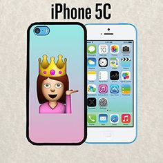 iPhone Case Cute Funny Queen Emoji for iPhone 5c Rubber Black (Ships from CA) Casematic http://www.amazon.com/dp/B00OCE0C08/ref=cm_sw_r_pi_dp_rqKKub1ZQZ3ZD