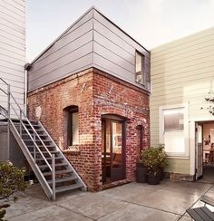 Formerly a laundry room, this tiny brick house packs a lot of solid design elements into only 93 square feet!  http://www.tinyhousewebsites.com