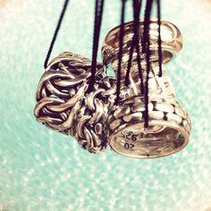 Dive into Buddha to Buddha rings. Skillful Handmade Silver rings by BuddhatoBuddha www.labelaware.com