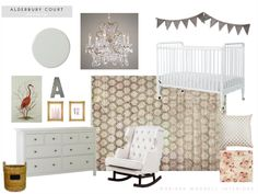roost   marissa waddell interiors: Nursery eDesign: A Riff on Traditional Pink