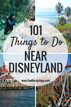 101 Things to Do Near Disneyland – Orange County has lots of things to do! Here is a list of 101 activities and attractions that are all less than 30 minutes away from Disneyland.
