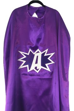 pow a, superhero, cape, dress up, costume, halloween