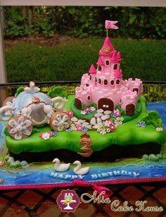 Princess twin cake