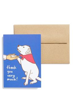 La Familia Green 'Good Dog' Note Cards (6-Pack) available at #Nordstrom