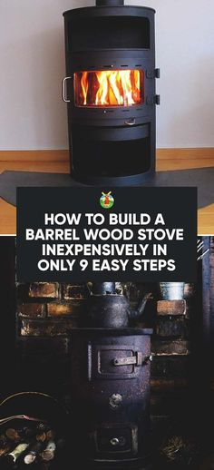 How to Build a Barrel Wood Stove Inexpensively in Only 9 Easy Steps - Modern Welding Classes, Welding Jobs, Welding Projects, Wood Projects, Woodworking Projects, Diy Welding, Metal Welding, Barrel Projects, Woodworking Bed