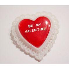 vintage be my valentine plastic - Google Search
