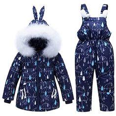 Bébé Filles Matelassé Floral Combinaison de ski pramsuit manteau d/'hiver chaude à capuche
