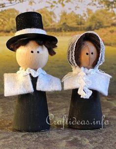 Thanksgiving Pilgrim Craft
