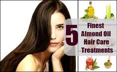 5 Finest Almond Oil Hair Care Treatments