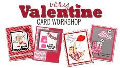 Very Valentine card workshop