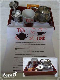 Kit chá personalizável