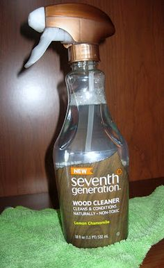 CLEAN MAMA: Cleaning Find - Seventh Generation Wood Cleaner