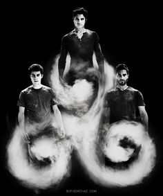 Stiles, Scott and Derek