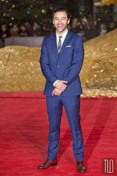 Aiden Turner At The Hobbit Germany premiere