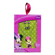 mm517-NJ - Minnie Mouse jewelry box set (Available Now)