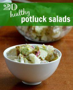 20 Healthy potluck salads   Real Food Real Deals