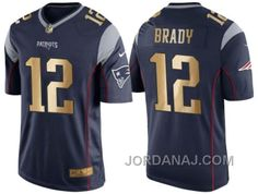 http://www.jordanaj.com/nike-new-england-patriots-12-tom-brady-navy-blue-mens-nfl-game-2016-christmas-golden-edition-jersey.html NIKE NEW ENGLAND PATRIOTS #12 TOM BRADY NAVY BLUE MEN'S NFL GAME 2016 CHRISTMAS GOLDEN EDITION JERSEY Only $23.00 , Free Shipping!