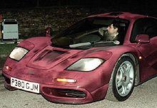 Mr Bean (aka Rowen Atkinson) and is McLaren F1