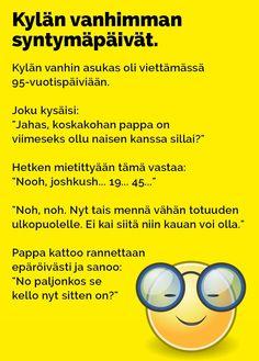 Vitsit: Kylän vanhimman syntymäpäivät - Kohokohta.com