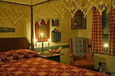 primitive bedroom decor | Decorating Colonial/Primitive Bedrooms