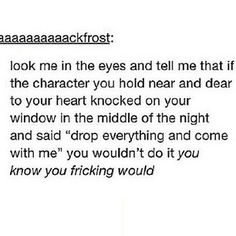 Oh gosh... Yes I would freaking do it
