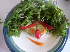 Fast Kale Chia Salad