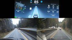 Tesla Autopilot Lane changing