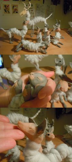 WIP new ooak dolls by Kirin-Hunter