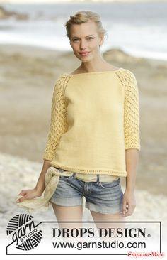 Пуловер и кардиган Honey Blossom - Вязание - Страна Мам