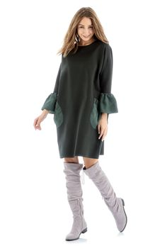 Odoro.ru - Платье Martini темно-зеленое