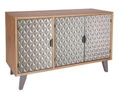 Credenza a 3 ante Horizon Credenza, Sweet Home, Industrial, Cabinet, Storage, 3, Furniture, Home Decor, Decor Ideas