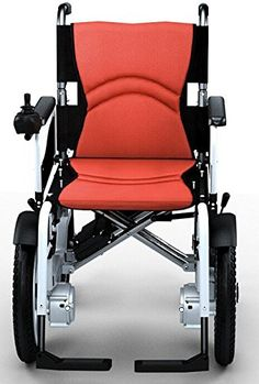Easy-carry lightweight battery-powered electric wheelchair with shopping bag NEW. >>> See it. Believe it. Do it. Watch thousands of spinal cord injury videos at SPINALpedia.com Portable Wheelchair, Powered Wheelchair, Wheelchair Accessories, Adaptive Equipment, Handicap Accessible Home, Spinal Cord Injury, Disability Awareness, Crutches, Assistive Technology