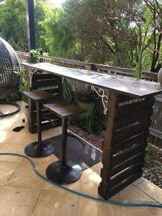 Image result for custom built rustic bar