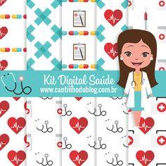 Kit digital Saúde Grátis para baixar - Cantinho do blog