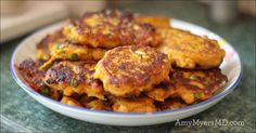 These delicious and easy-to-make sweet potato cakes are a great dinner appetizer or paleo breakfast!