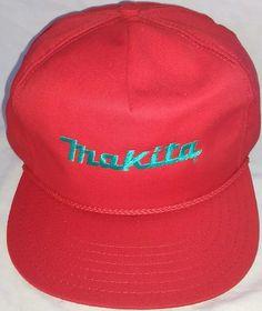 e5eba464f83  9.96 or best offer MAKITA power tools Hat Adjustable Snapback Promo Cap  USA  Makita