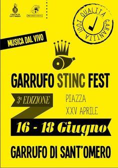 GARRUFO STINC FEST - Garrufo di Sant' Omero | Eventi Teramo  #eventiteramo #eventabruzzo #garrufo