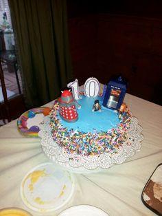 Dr. who birthday cake