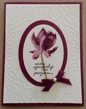 Stampin Up Card Kit - Sympathy Card - Set of 4 Cards