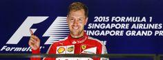 Ferrari-Pilot Vettel: Überlegene Vorstellung in Singapur