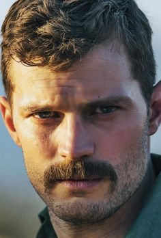 Jamie Dornan with moustache Jamie Dornan, Gay Beard, Beard No Mustache, Hairy Men, Bearded Men, Scruffy Men, Mustache Styles, Mr Grey, Handsome Faces