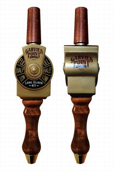 Garvies Point Brewery of Glen Cove, New York - Custom Ferry Throttle Tap Handle © 2016