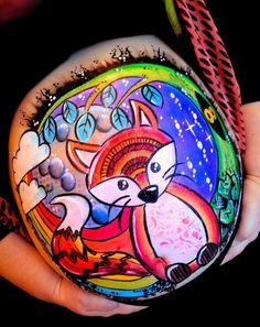 Lisa Oakley    fox belly