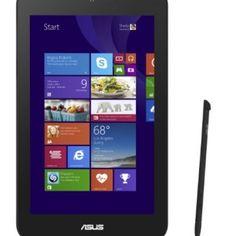 ASUS VivoTab Note 8 M80TA-B1-CA Tablet (8-inch, Atom Z3740, 2GB-DDR3, 32GB eMMC, Windows 8.1, Black) Windows Operating Systems, Windows 8, Note 8, Black, Black People