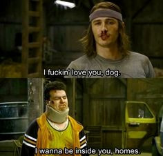 pineapple express movies-and-tv-shows-i-adore Tv Quotes, Movie Quotes, Pineapple Express Quotes, Haha Funny, Hilarious, Fun Funny, Danny Mcbride, James Franco, Funny Movies