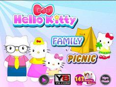 Słodka Hello Kitty wybrała się wraz ze swoją rodziną na rodzinny piknik do okolicznego parku przyrody. Rozstaw sama cały biwak! http://www.ubieranki.eu/gry/3833/rodzinny-piknik-hello-kitty.html