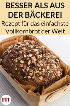 Wheat Bread Recipe, Healthy Bread Recipes, Baking Basics, Breakfast Bake, Pampered Chef, Bread Baking, Food Inspiration, Good Food, Food Porn