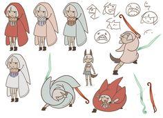 Animation character design by Cloudgateau.deviantart.com on @deviantART