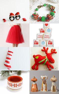 Jingle Bells.... by Mandarina on Etsy--Pinned with TreasuryPin.com